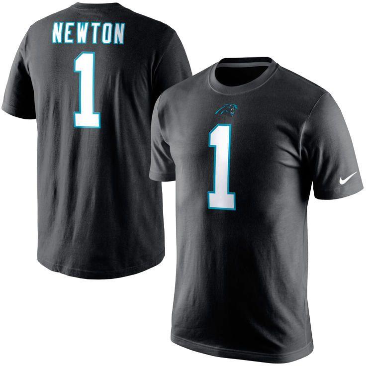 Cam Newton Carolina Panthers Nike Player Pride Name & Number T-Shirt - Black - $31.99