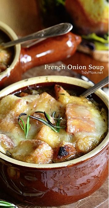 French Onion Butternut Squash Soup With Gruyere Recipe — Dishmaps