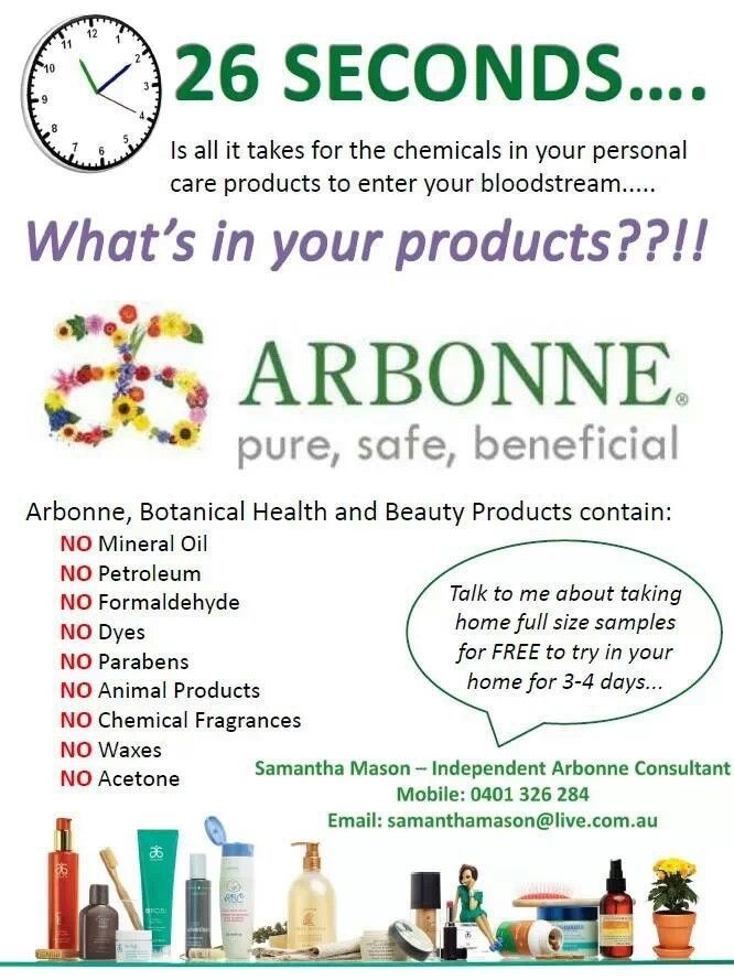 This Arbonne business has changed my life! The products are just bonus - ask me how