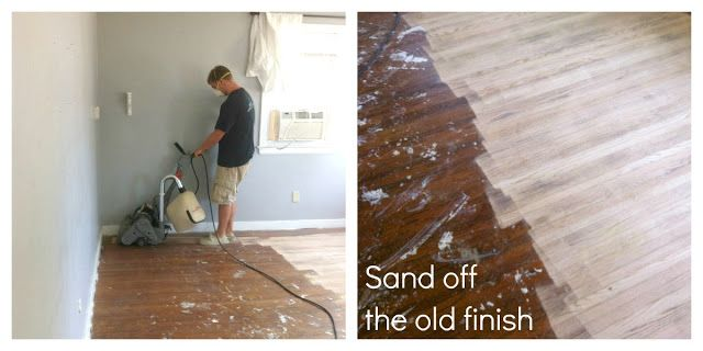 Do you have #hardwoodfloors underneath old carpet? Find out how to remove it and #refinish the hardwood here!-
