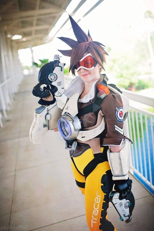 Tracer Cosplay costume Overwatch (11) – Cosplays | Trace ...