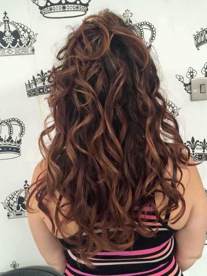 Beautiful curls by Josephine using the babyliss hair curler  #hair #curls #babyliss #long #salon #epsom
