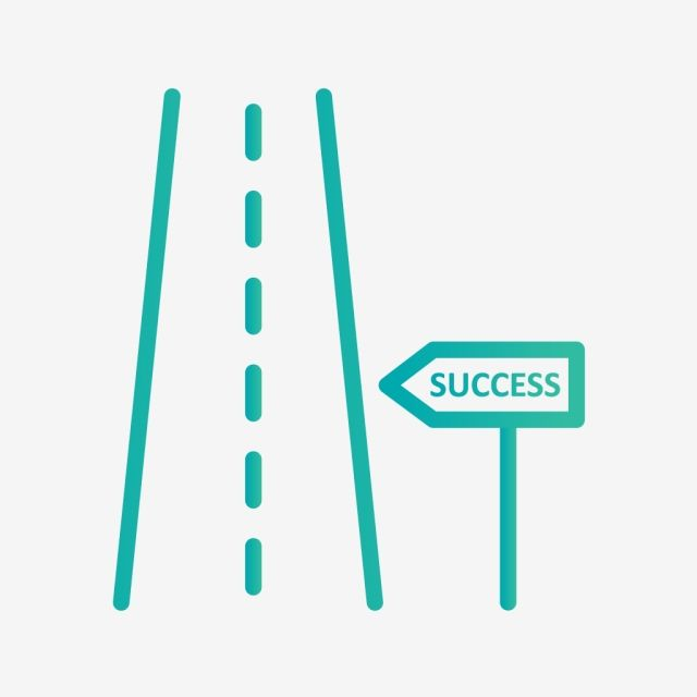 Vector Road To Success Icon Success Icons Road Icons Road Png And Vector With Transparent Background For Free Download Graphic Design Background Templates Vector Icon