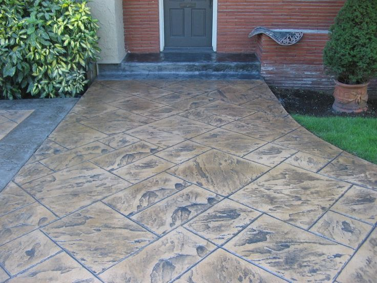 1000 ideas about Stamped Concrete Patio Cost on Pinterest