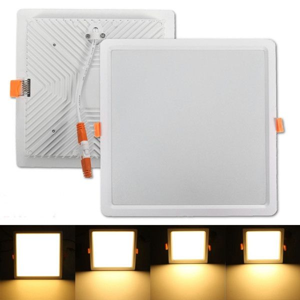 7w 16w 24w 32w Square Led Recessed Ceiling Panel Down Light Warm White With Driver 85 265v Specifi Recessed Ceiling Ceiling Panels Led Recessed Ceiling Lights