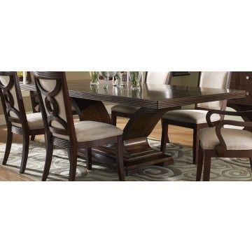 Somerton Dolce Formal Dining Room Set In Walnut   Formal Dining Sets   Dining  Room Sets By Dining Rooms Outlet