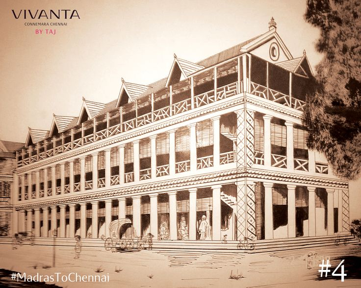 A classic with a history of its own.  Before the classic got its name- Connemara, sometime between 1824 and 1854, the property leased out from the hands of Binny to the Moodelliar community and was named the Imperial Hotel in 1854.  #VintageCool #MadrasToChennai