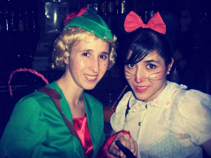 Peter and a sweet Minnie