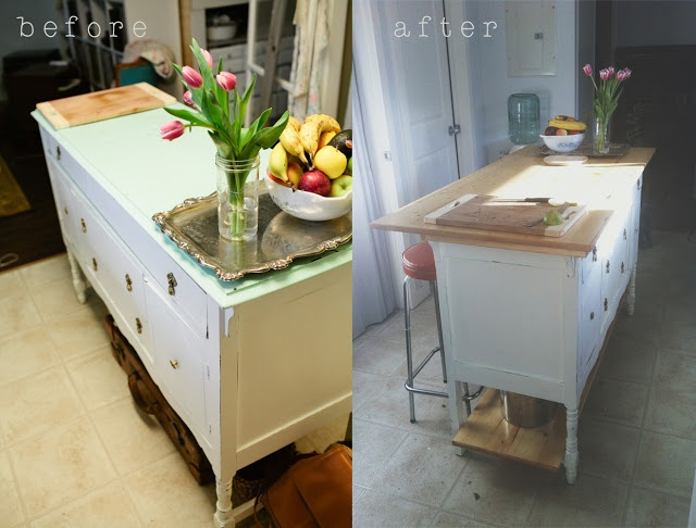 turn old dresser into kitchen island turn an dresser into a kitchen island stuff 9496