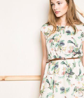 Vestido con Cinturón | Shop Woman SPF