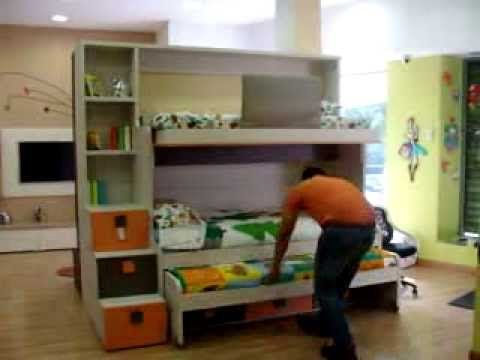 94 best images about dormitorios juveniles e infantiles for Cama nido individual