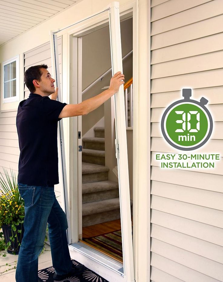 Best 25 retractable screen door ideas on pinterest for 48 inch retractable screen door