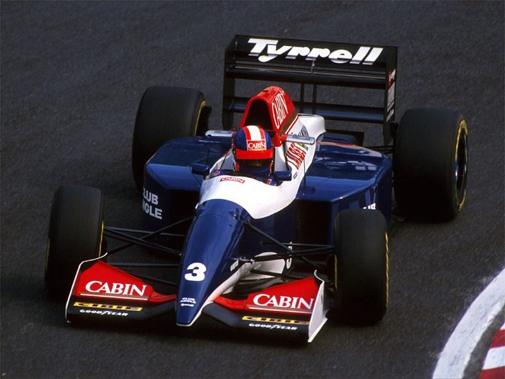 Ukyo Katayama Tyrrell - Yamaha 1993