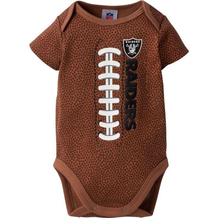 Gerber Infant Oakland Football Onesie, Size: 3-6M, Team
