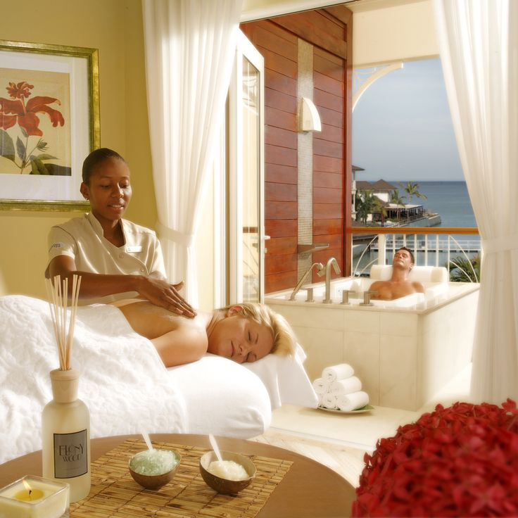 Romantic couples 39 massage at the landings st lucia a for Spa vacations for couples