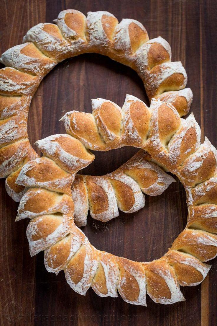 Wreath Bread Recipe (VIDEO)