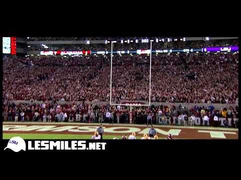 ▶ LSU vs. Alabama Game 2013 trailer - YouTube ... Can you feel it?