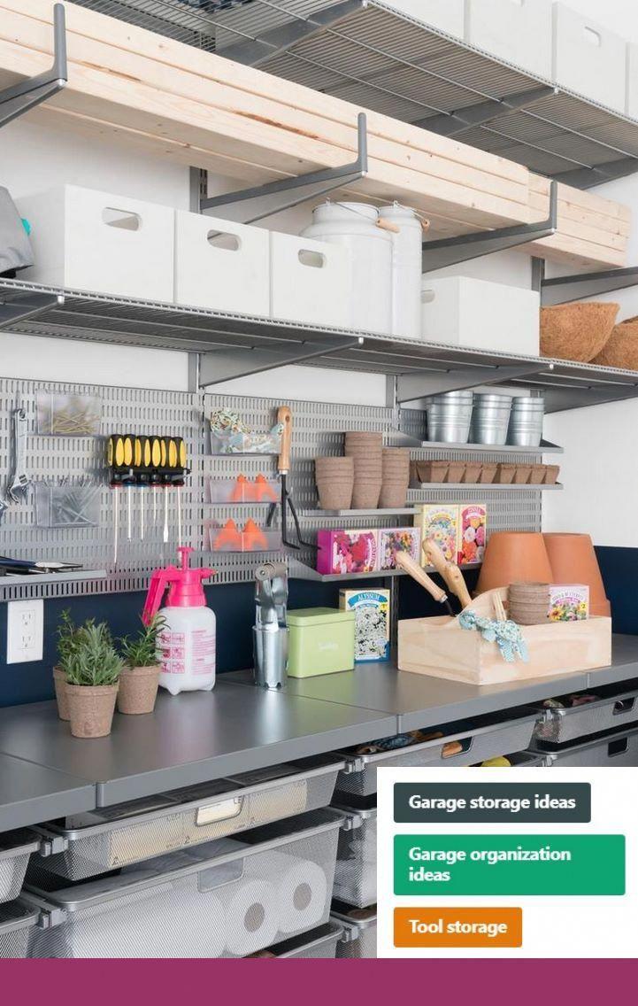 Garage Workbench Mitre 10 Garage Storage Solutions Pinterest
