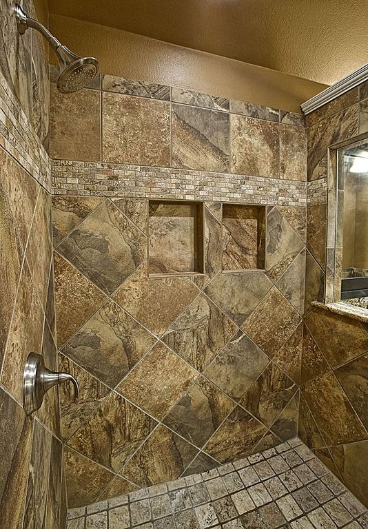 25 best ideas about rustic shower on pinterest for Cabin shower tile ideas