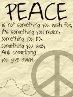 "thefeelgoodcounter: ""♥☮Peace & Love- Transceding now to all People …☮♥ """