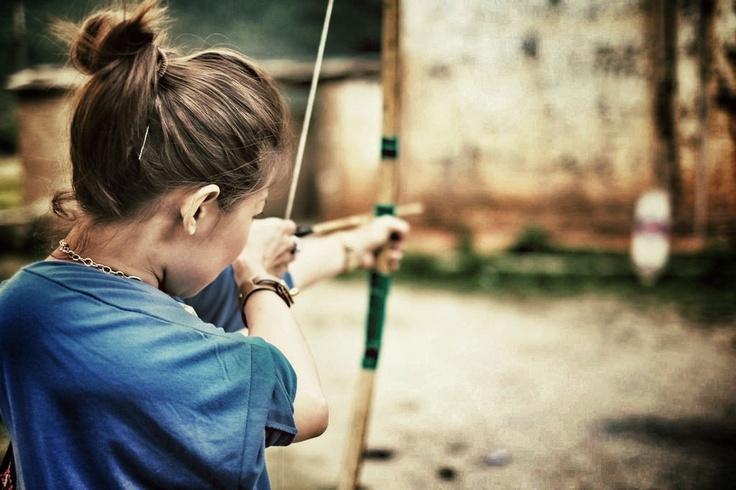 Trying Archery