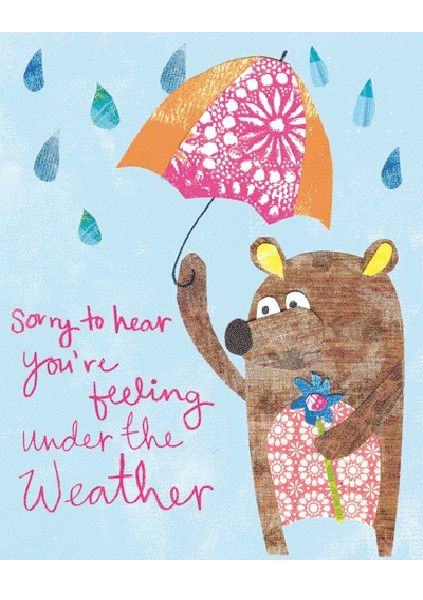 Greeting Cards » Under The Weather » Under The Weather - Paper Salad