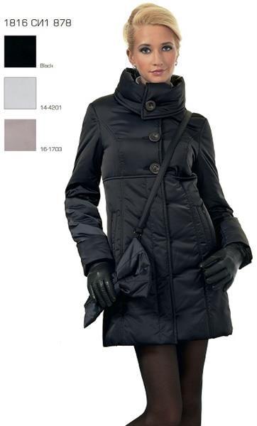 Купить зимнее женское пальто пуховик