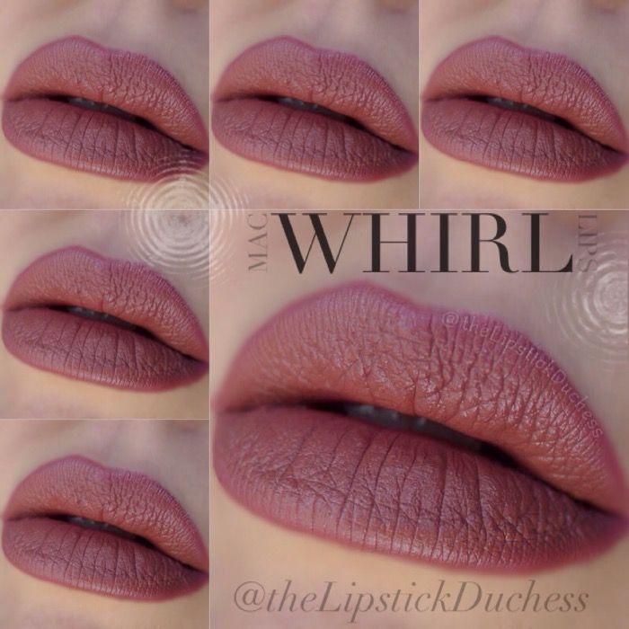 MAC Whirl Lipstick   The Lipstick Duchess: Mac The Mattes