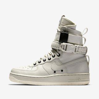 Mens Womens Nike Special Forces Air Force 1 Boots Beige