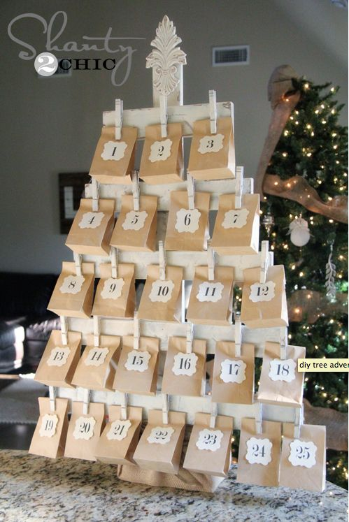 Ideas For Advent Calendar Netmums : Ideas about homemade advent calendars on pinterest