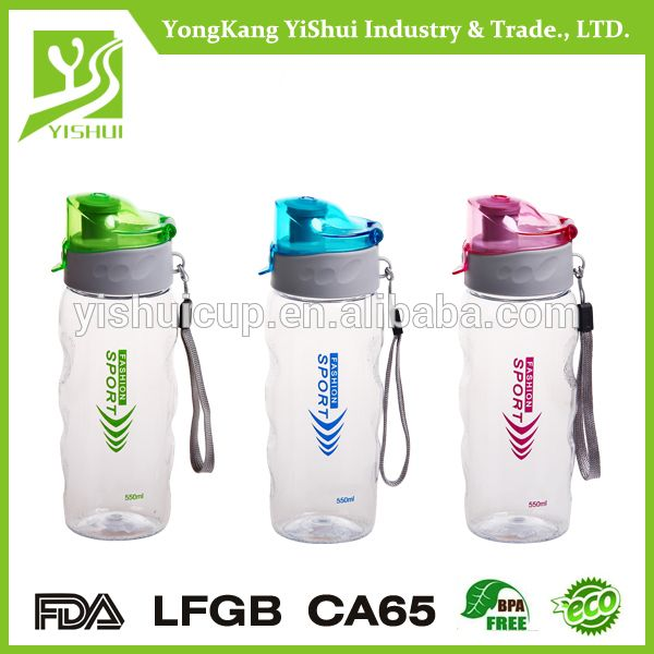 New Style BPA Free 550ml Tritan plastic water tumblers with string
