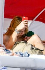 Heather Graham pictured as she relaxed in the sun at the beach in Miami http://celebs-life.com/heather-graham-pictured-relaxed-sun-beach-miami/  #heathergraham