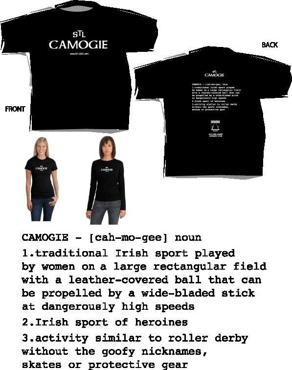 Camogie Tee