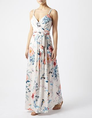 Josephine Print Shorter Length Maxi Dres