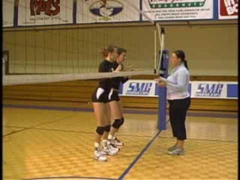 Blockers Footwork in Volleyball