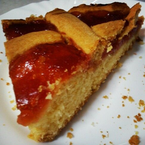 Cake with marmalade quince