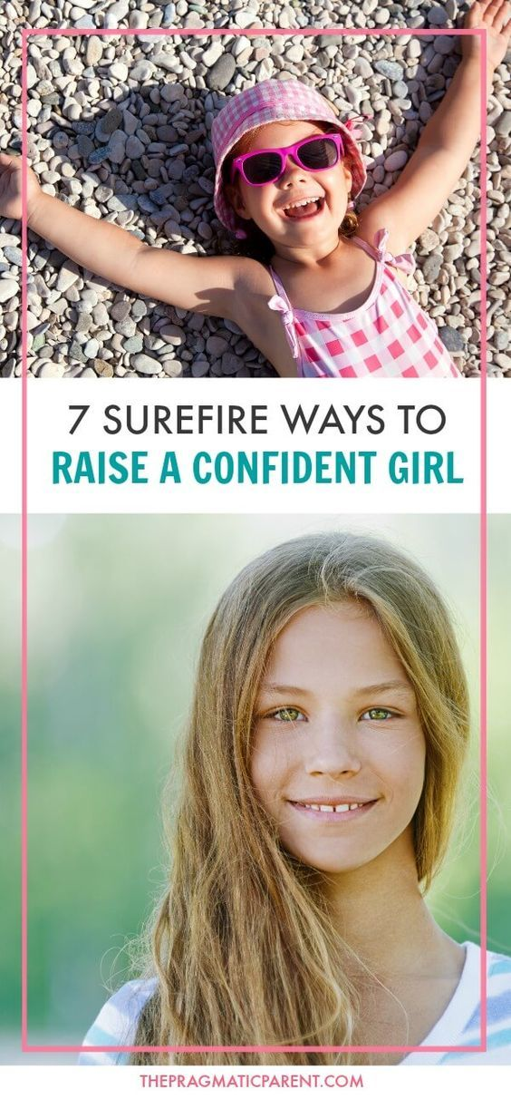 Raise your girl to grow up confident, have a positive self-image and strong sense of self-worth. 7 Ways to Raise a Confident Girl who projects girl power. via @https://www.pinterest.com/PragmaticParent/