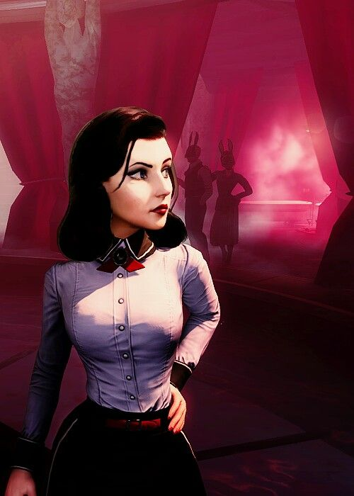 Elizabeth from 'BioShock Infinite: Burial At Sea Episode 1'. Love Elizabeth in this so much.