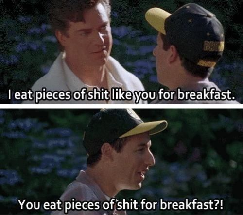 One of the many classic lines from my favorite golf-related movie