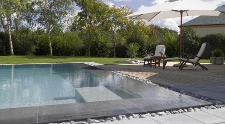 95 best piscine images on pinterest for Piscine miroir overflow