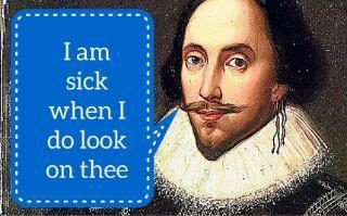 15 great William Shakespeare insults which are better than swearing