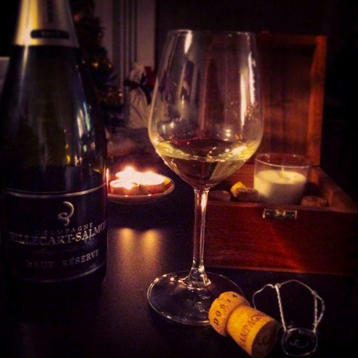Billecart-salmon champagne. Brut reserve. France