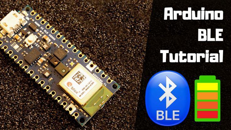Ble battery status example with arduino nano 33 ble sense
