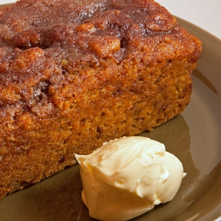 A very yummy recipe for banana pumpkin bread, Great served with whipped cream.