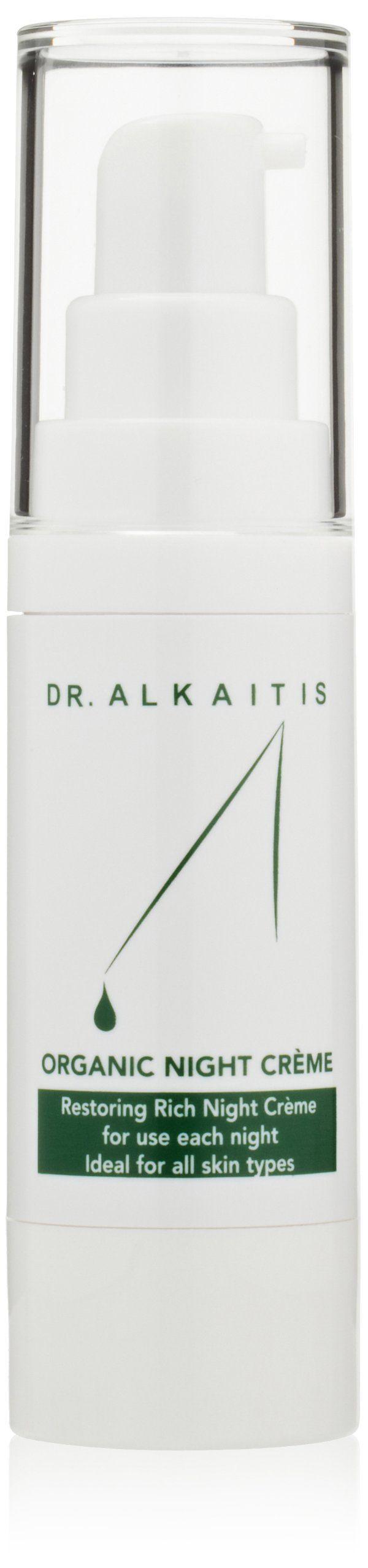 DR. ALKAITIS Organic Night Crème, 1 fl. oz.