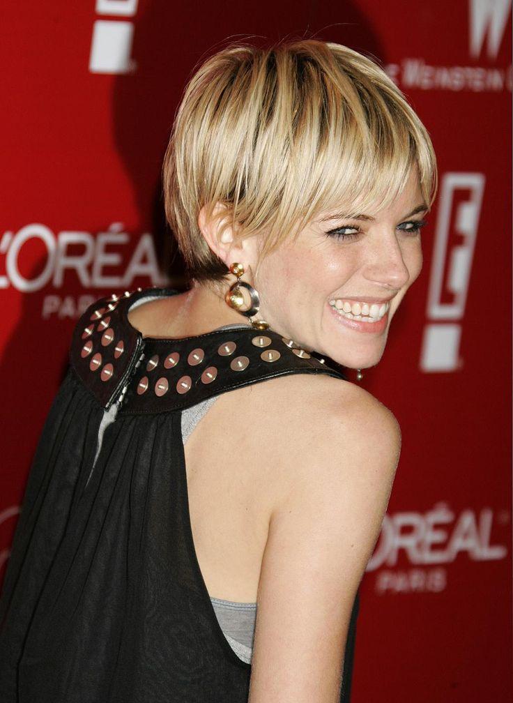 25 best ideas about sienna miller short hair on pinterest sienna miller bob sienna miller - Coupe feminine courte ...