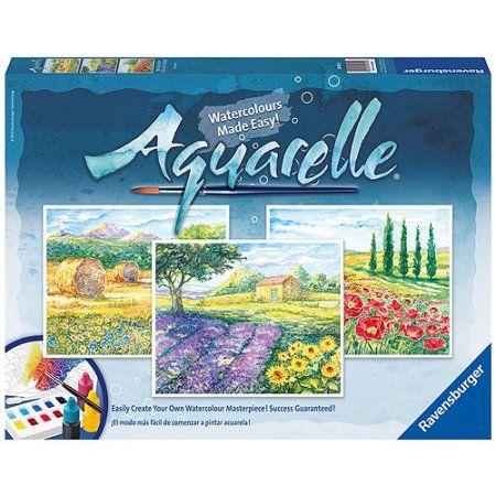 Enter To Win A Ravensburger Aquarelle Craft Set Little Mermaid