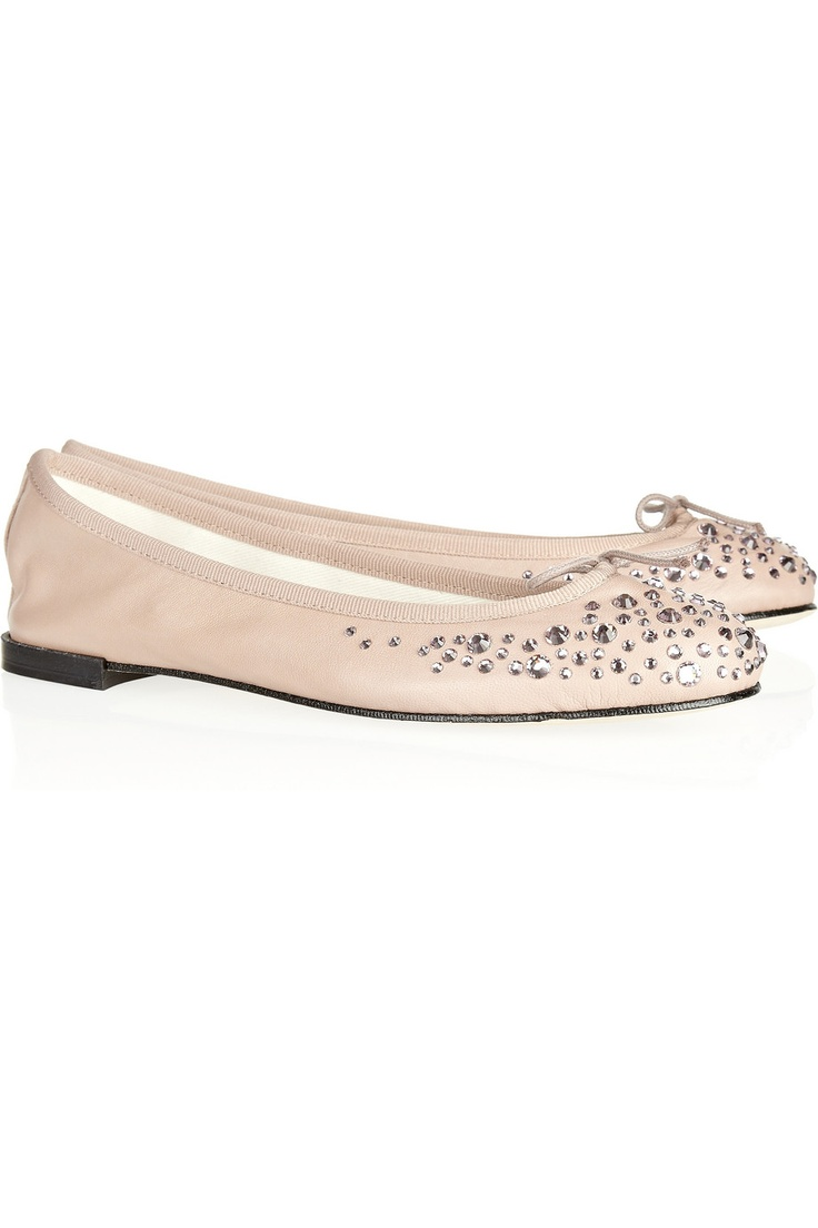 seriously in love with these Repetto flatsChiki Collection, Repetto Flats, Leather Ballet, Embellishments Flats, Crystals Embellishments, Ballet Flats, Eva Chen, Repetto Embellishments, Rain Drop