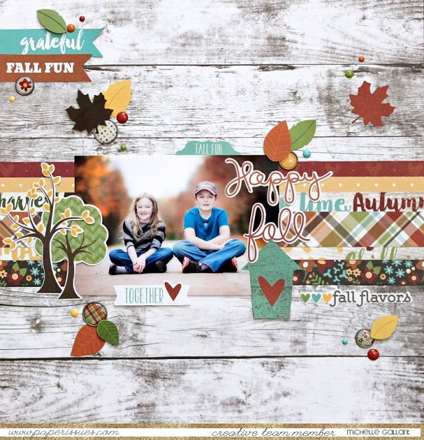 Paper Issues: Product Spotlight Simple Stories Pumpkin Spice @mmgallant @simplestories