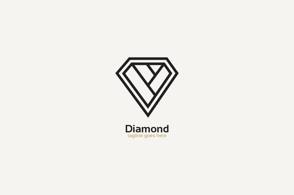 Diamond Logo by @Graphicsauthor